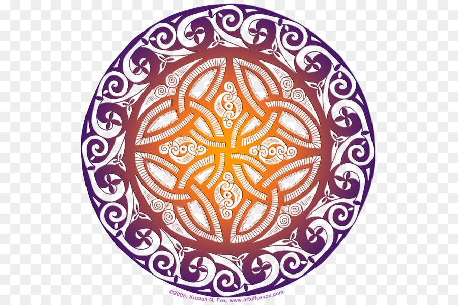 Símbolo de nudo Celta Celtas de la geometría Sagrada Patrón - De ...