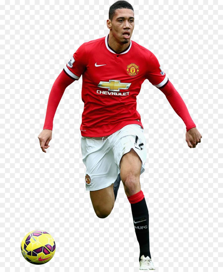 Camiseta Manchester United Chris Smalling