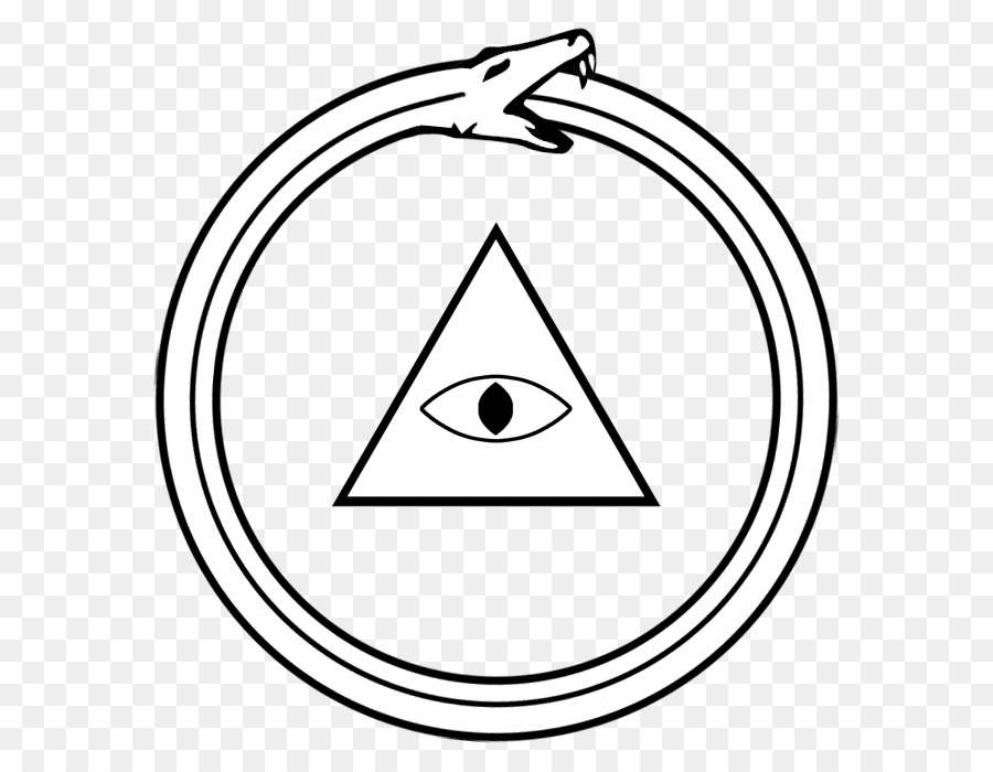Symbol Ouroboros Eye Of Providence Snake Tripleinfinity Png