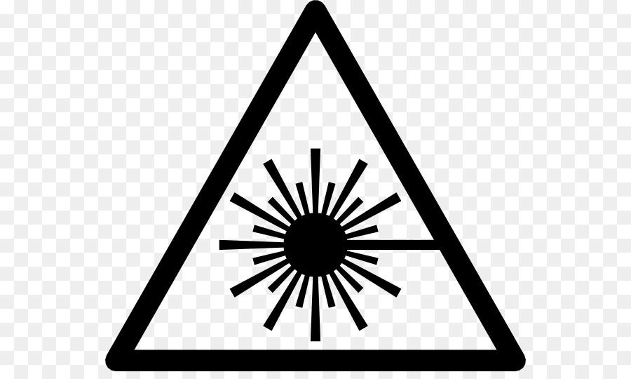 Laser Safety Symbol Laser Beam Png Download 600529 Free