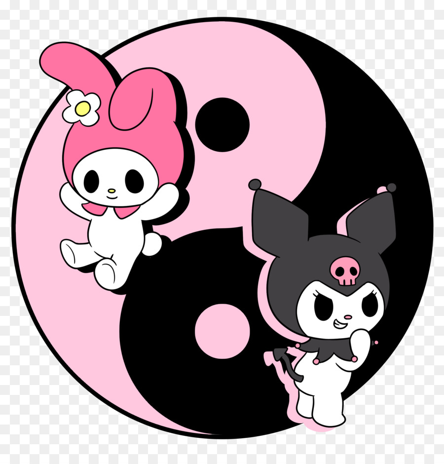 Kuromi Hello Kitty My Melody Animation - my melody png ...