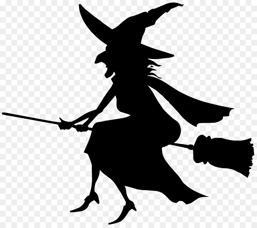 witchcraft black and white silhouette clip art witch vector png rh kisspng com clip art witch face clip art witches hat