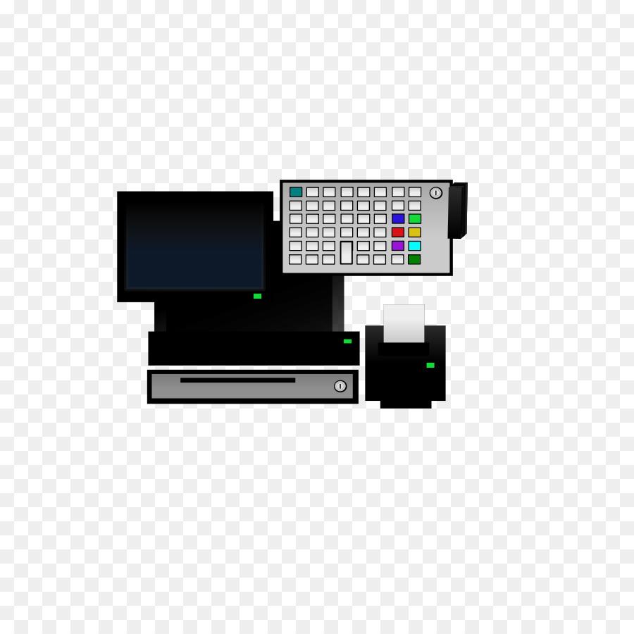 Microsoft Visio Point of sale Computer terminal Clip art - terminal ...