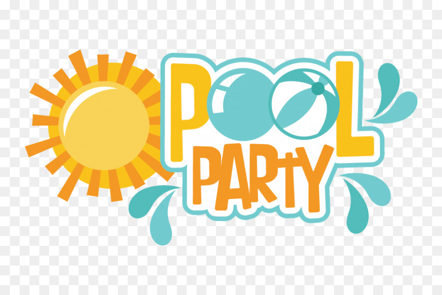 Party Swimming Pool Clip Art Privet Party Png Download
