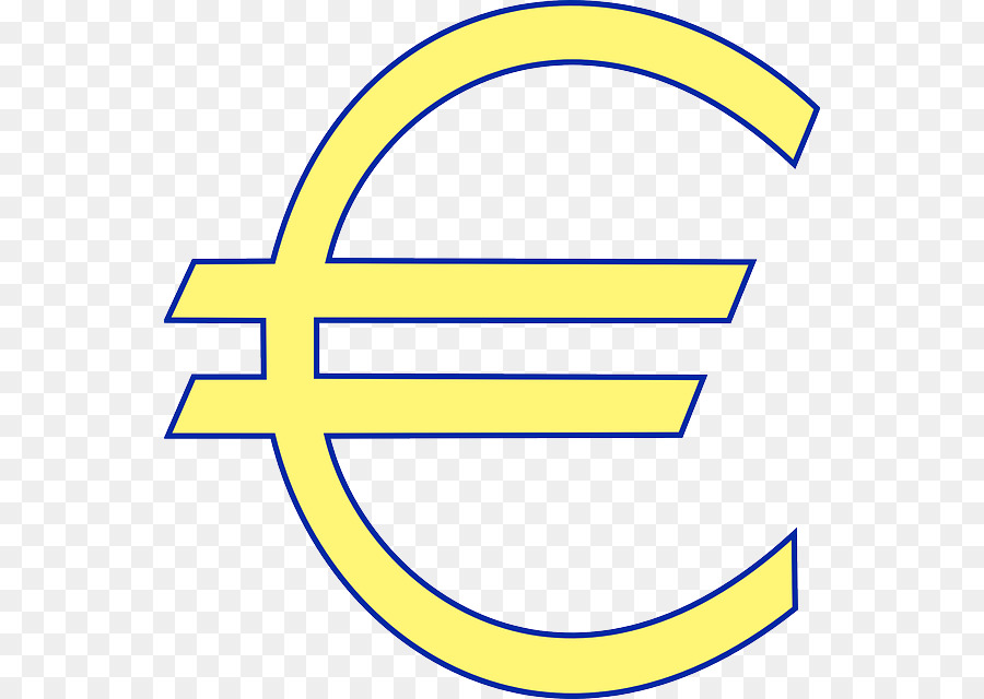 Euro Sign Currency Symbol Euro Banknotes Money Cartoon Europe Png