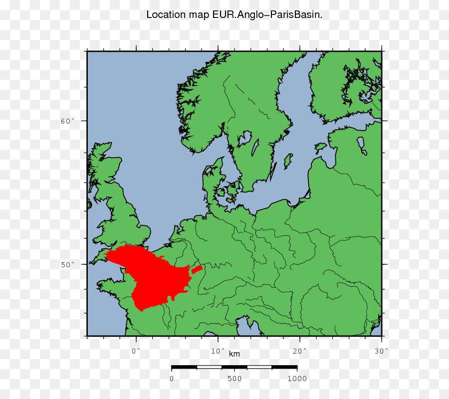 Paris Basin World map North Sea Baltic Sea - dashed png download ...
