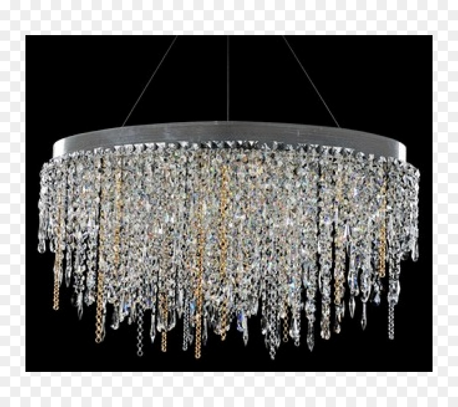 Light fixture Chandelier Lighting Crystal - hanging island png ...