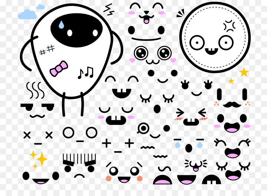 Drawing Face Cuteness Clip art - kawaii cute japan png ...