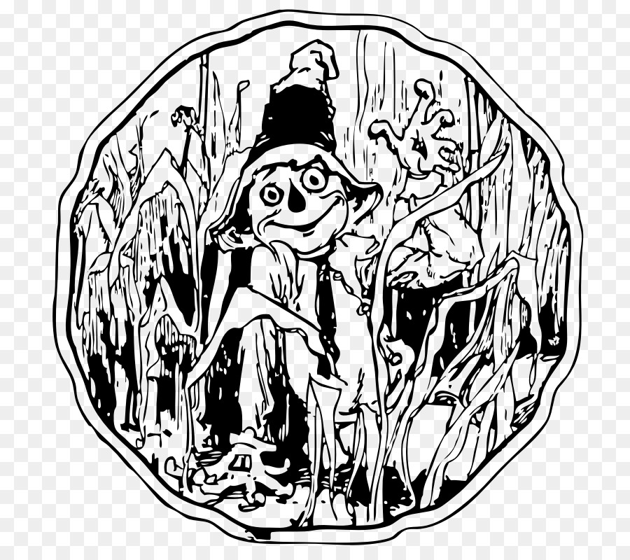 Scarecrow Maize Clip Art