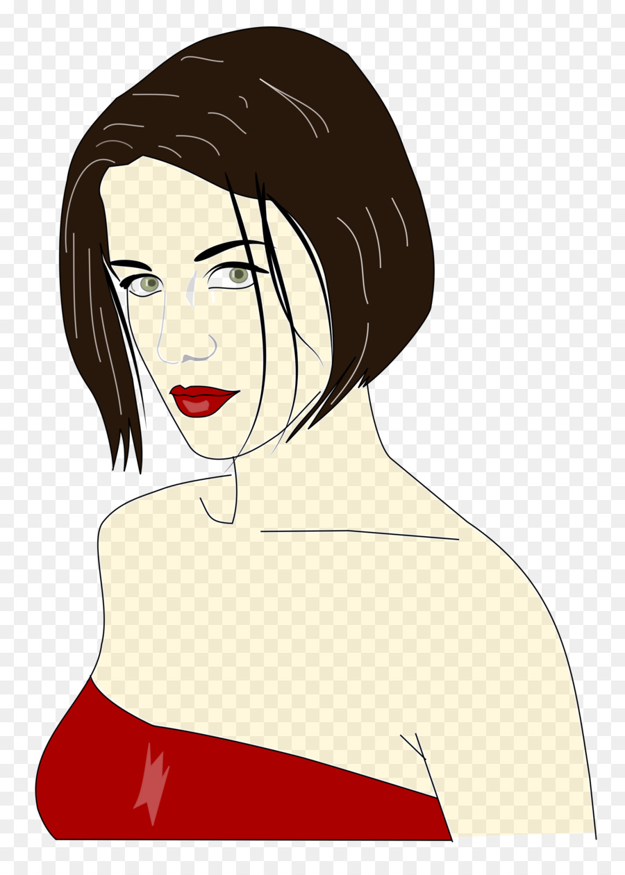woman drawing beauty clipart png download 1729 2400 free