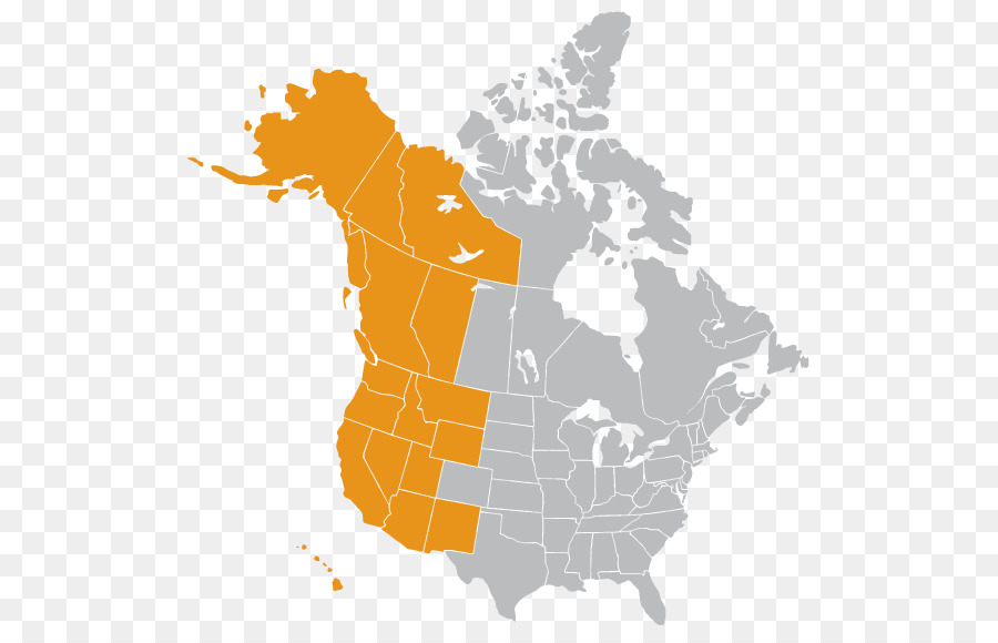 United States Canada Mexico Vector Map Jesusland map - western ...