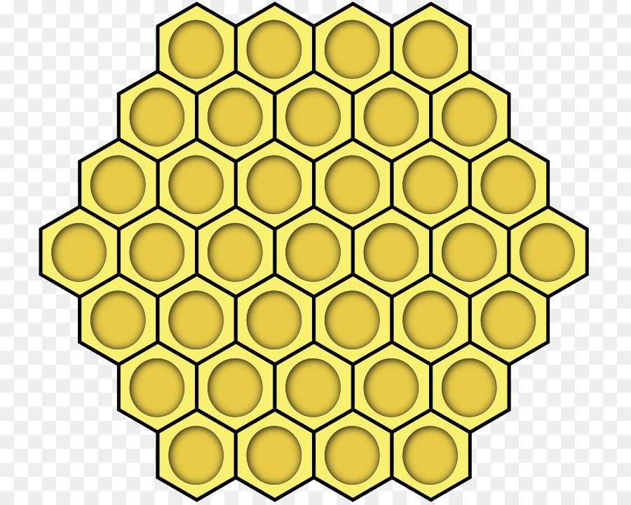 Honey Bee Honeycomb Beehive Clip Art