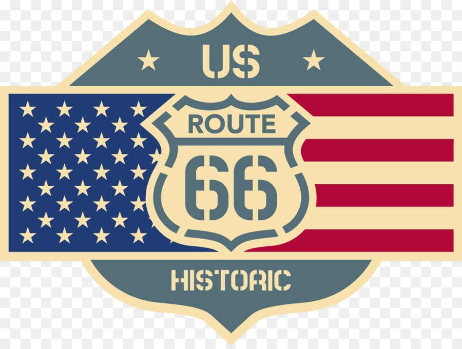 U.S. Route 66 Sticker Car Decal Logo - Route png download - 1070*800 ...