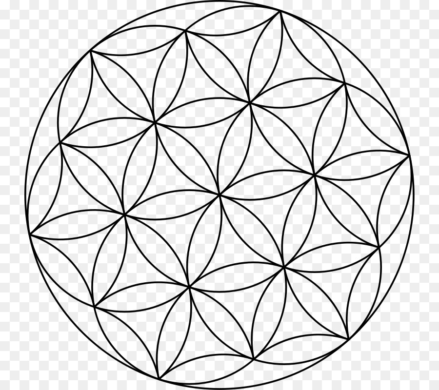 Sacred Geometry Seed Clip Art Ancient Circle Png Download 800