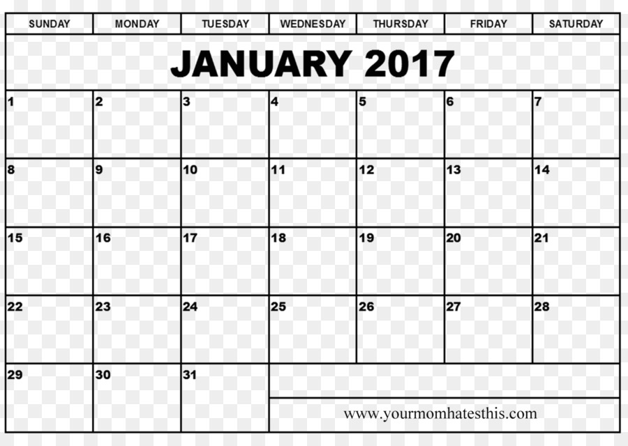 Online Calendar Template 0 January Ms Word Resume Png Download