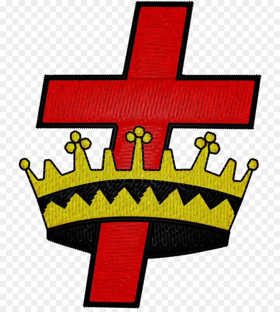 York Rite Cross And Crown Freemasonry Knights Templar Red Crowned