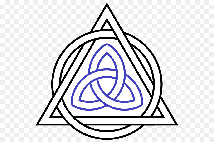 Triquetra Circle Triangle Alchemical Symbol Interlaced Png