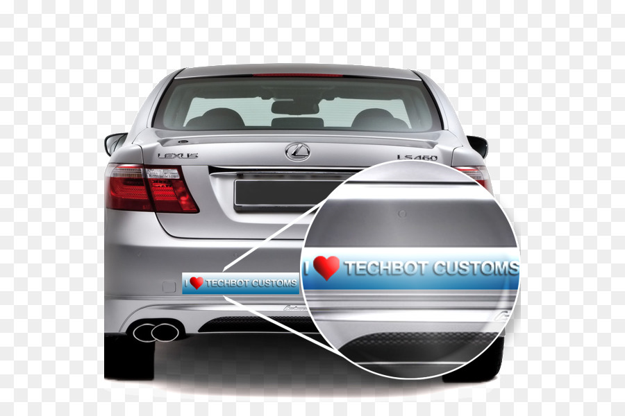 Car Lexus LS Decal Sticker   Car Stickers