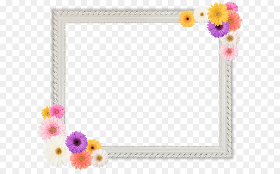 Cut flowers Petal Picture Frames Flowering plant - memorial png ...