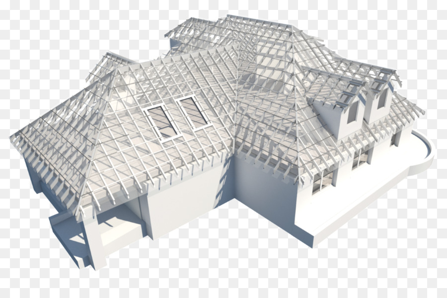 Framing Steel frame Domestic roof construction Metal roof Building ...