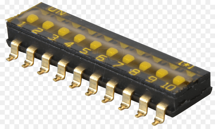 Electronic component DIP switch Electrical Switches Surface-mount ...
