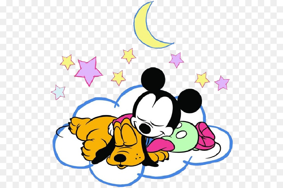 pluto minnie mouse mickey mouse daisy duck donald duck sleeping