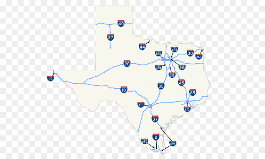 Texas state Highways Interstate 69 in Texas Interstate 30 US Route ...