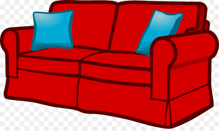 Couch Furniture Living Room Clip Art