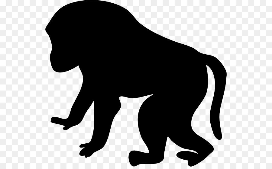 mandrill primate clip art orangutan clipart png download 600 552 rh kisspng com
