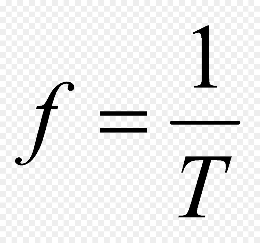Frequency Formula Wavelength Mathematics Force And Motion Png
