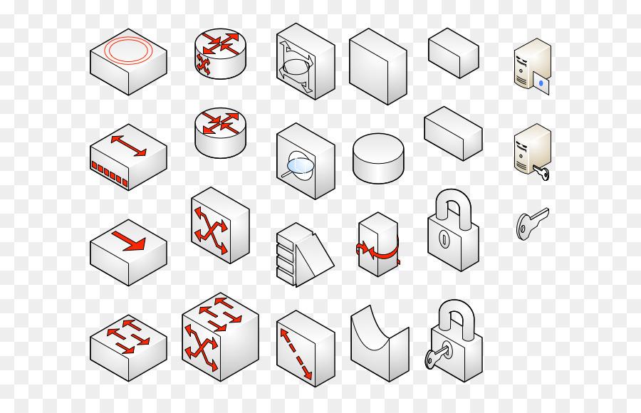 microsoft visio computer network diagram stencil