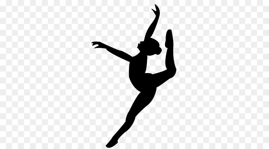 Bailarina De Ballet Silueta De Pointe Técnica