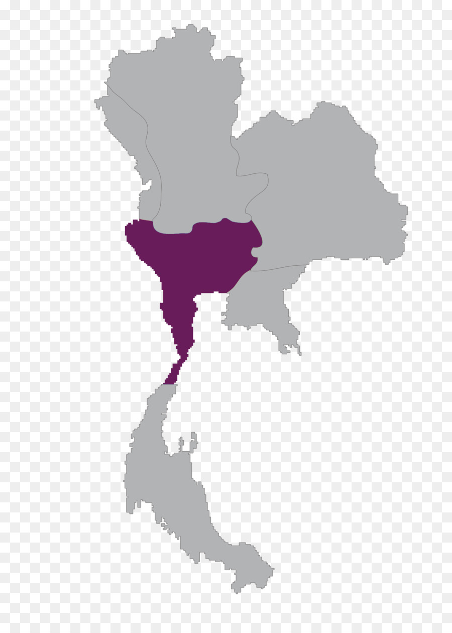 Flag Of Thailand Map Map Of Thailand Png Download 1396 1942