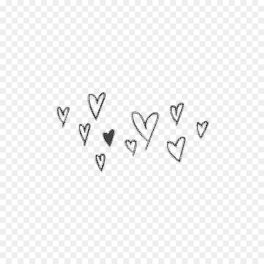 vincent drawing doodle heart aesthetic dividing line png number line clipart black and white Number 3 Clip Art Black