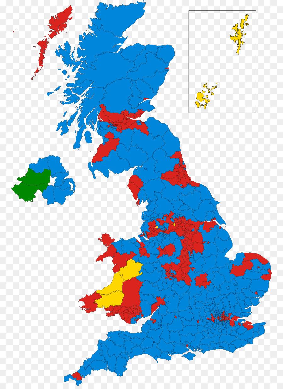 England Leere map British Isles - Parlamentswahl png herunterladen ...