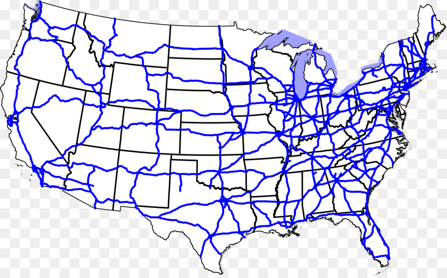 US Interstate highway system US Route 66 Interstate 40 Contiguous