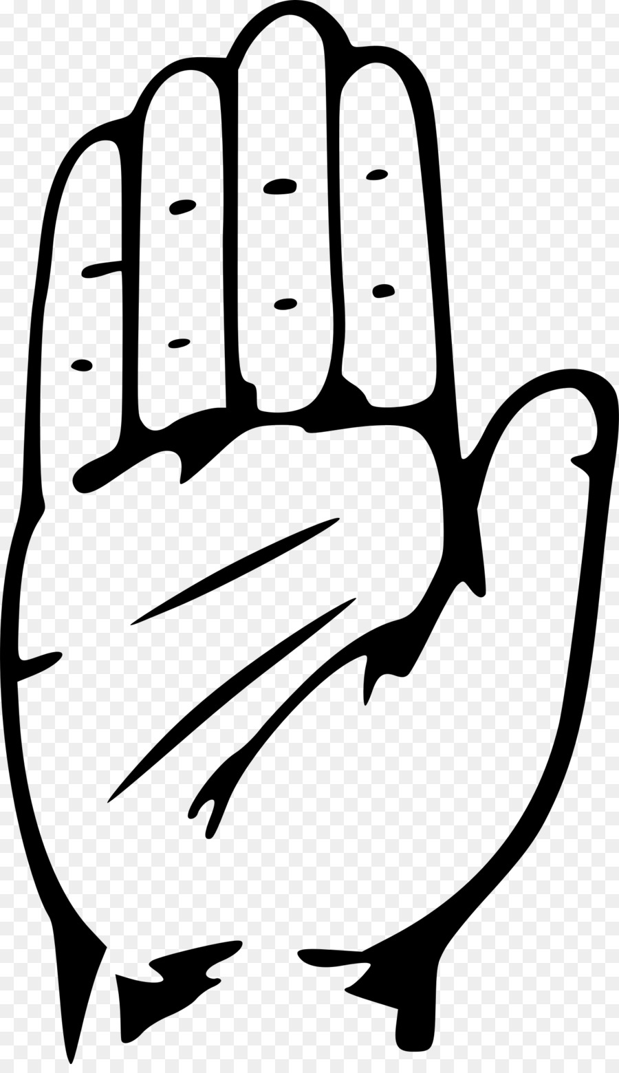 Indian National Congress Symbol Hand Computer Icons Clip Art Hand
