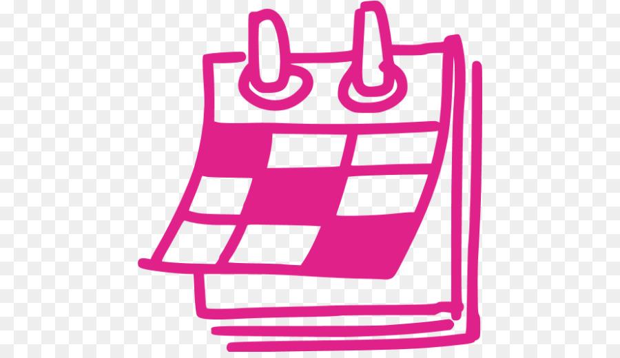 Calendario Rosa Png.Calendar Cartoon Png Download 512 512 Free Transparent