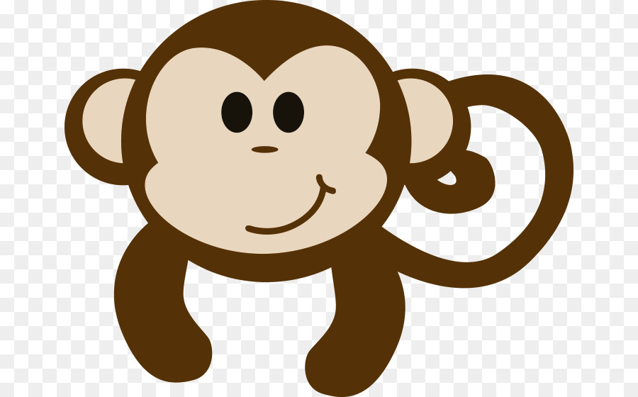 primate mammal animal clip art baby monkey png download 718 560 rh kisspng com cute baby monkey clip art baby boy monkey clip art