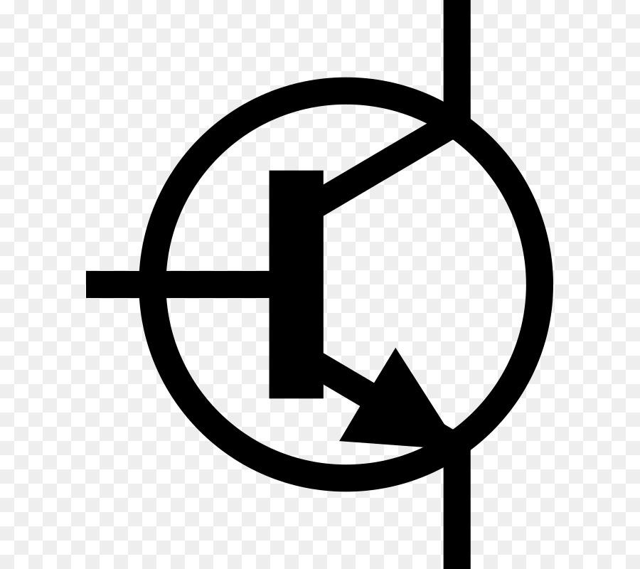 electr u00f3nica s u00edmbolo del transistor del circuito