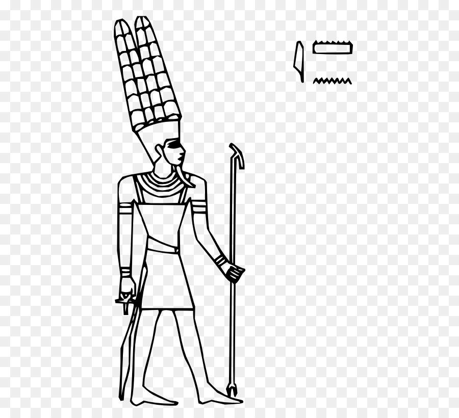 Los dioses del antiguo egipto para Colorear libro de Amón Ra - Diosa ...