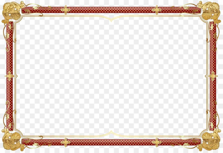 Picture Frames Clip art - lovely decorative frame png download ...