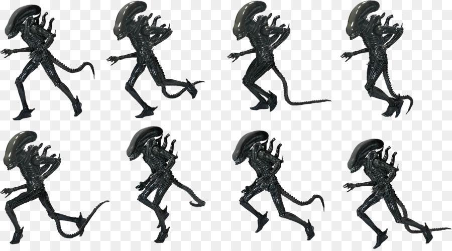 Alien Predator Sprite vida Extraterrestre Dibujo - Extranjero ...