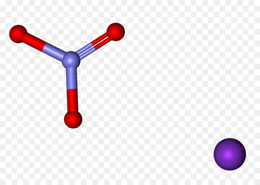 Potassium Nitrate Chemistry Ball And Stick Model Stick Png