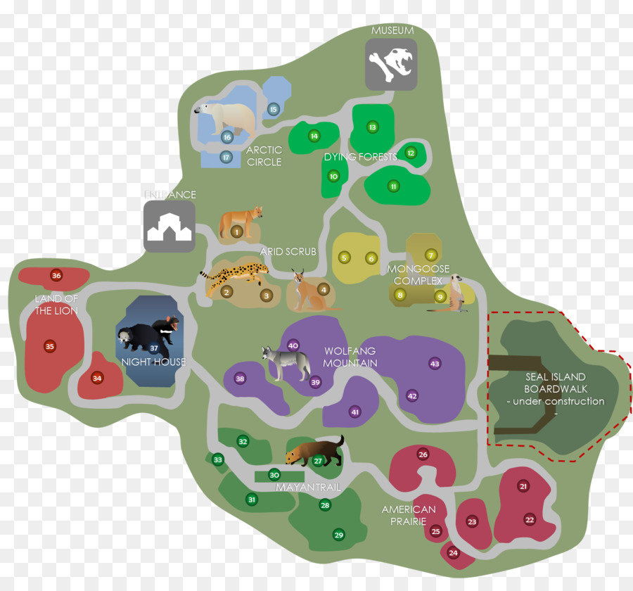 Zoo Tycoon 2 Extinct Animals Toy png download - 1571*1435 - Free