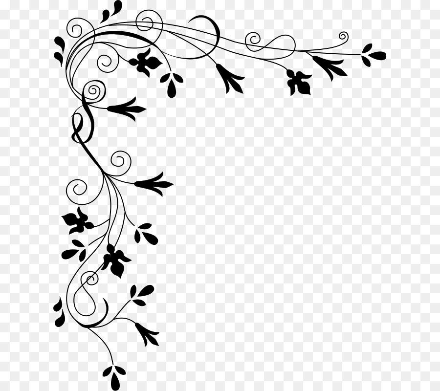 floral design border