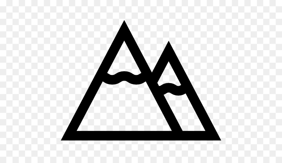 Computer Icons Symbol Mountain Clip Art Snow Mountain Png Download