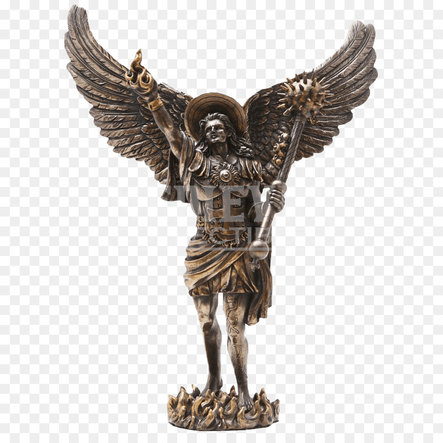 michael gabriel uriel statue archangel angel michael png download