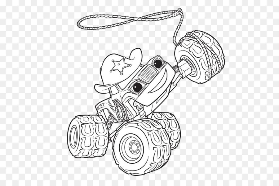 Darington Dibujo para Colorear libro de Nickelodeon - blaze y el ...