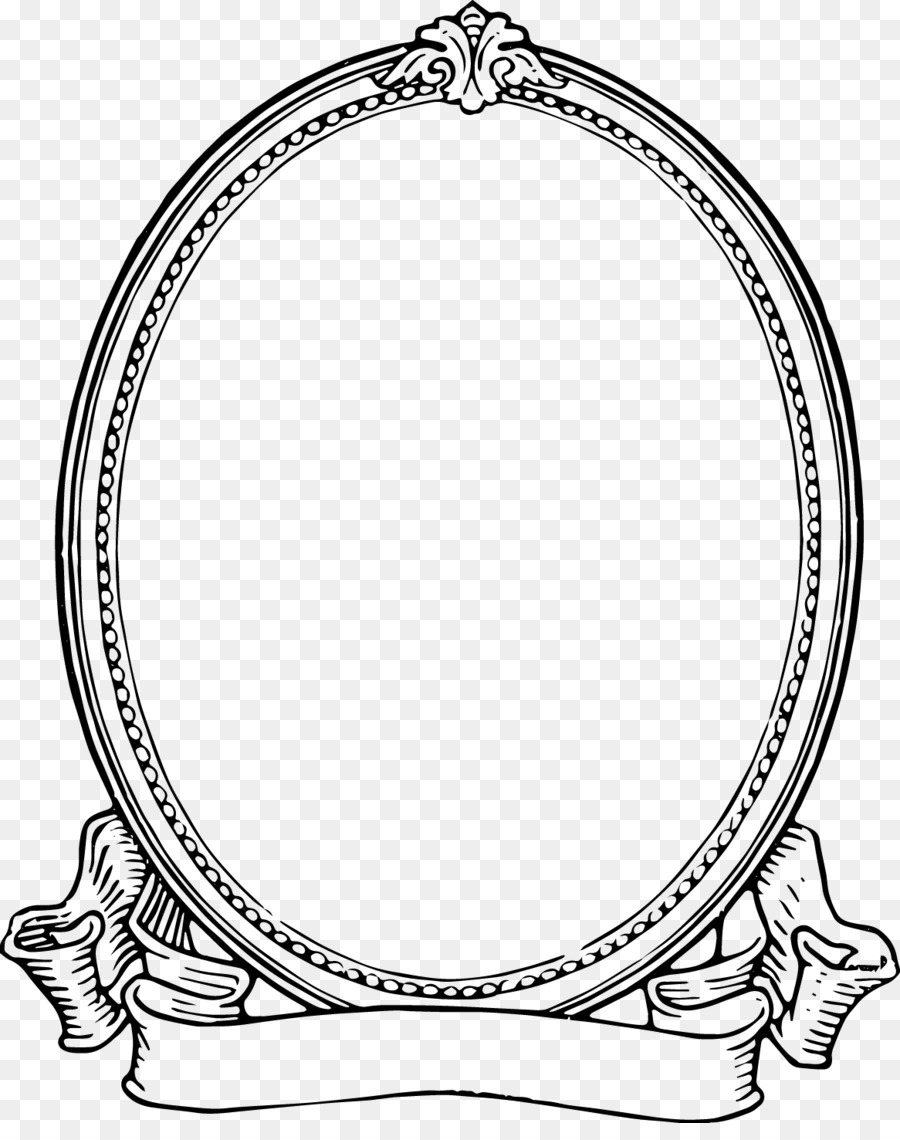 Picture Frames Black and white Clip art - vintage frame transparent ...